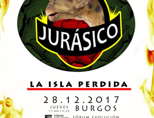 "Dinosaurios ""Jurásico: la isla perdida"""
