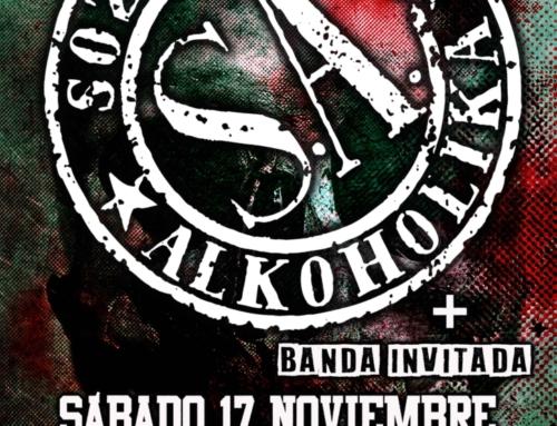 Soziedad Alkoholika llega a Burgos el próximo 17 de noviembre