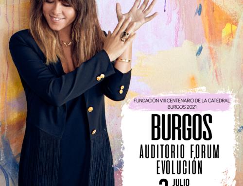 Vanesa Martín llega a Burgos el próximo 3 de julio